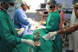 Médicos extraen los cuchillos de un paciente en la India