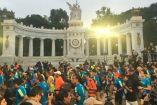 Corredores presentes en el Maratón CDMX