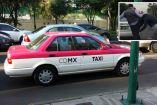 Taxista y conductor de Uber protagonizan pelea