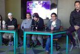 Los integrantes del equipo de League of Legends de 6Sense, en conferencia de prensa