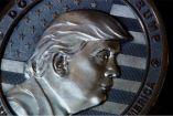 Así luce la moneda de Donald Trump