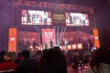 Así luce el escenario del Auditorio Black Berry para el Gears Pro Circuit