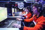 Los jugadores de Lyon Gaming durante su partido contra Predators