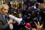 Eberhard Van del Laan en una sesión con medios de comunicación