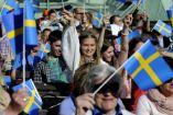 Un grupo de personas de Suecia durante un evento