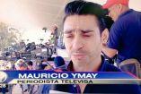 Rubén Rodríguez presentado como Mauricio Ymay