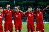 Bayern Munich celebra triunfo frente al Borussia Mönchengladbach