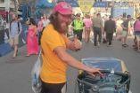 Rob Pope en el Maratón de Boston 2017