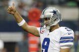 Tony Romo durante un partido de Dallas Cowboys