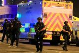 Los servicios de emergencia, fuera del Manchester Arena
