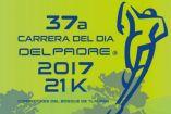Cartel de la carrera día del padre 2017