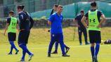 Caixinha dirige una práctica de Cruz Azul