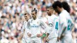 Jugadores del Real Madrid en un partido