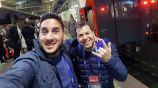 Pitu Willis y César Trinidad, en la Copa del Mundo de Rusia 2018