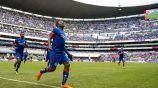 Rentería festeja gol con contra Puebla en la J1 del A2018