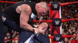 Brock Lesnar arremete contra Paul Heyman