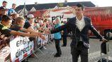 Chucky Lozano, a su llegada al Philips Stadion