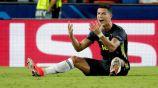 Cristiano Ronaldo en lamento durante el duelo ante Valencia
