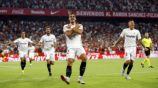 Silva festeja anotación contra Real Madrid