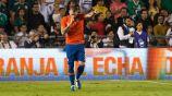 Castillo, tras anotar el gol del triunfo contra México
