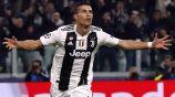 Cristiano Ronaldo, celebra su gol ante el Manchester United