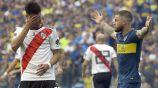 Exequiel Palacios y Nahitan Nandez en Final de Ida de la Libertadores