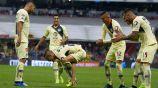Paul celebra su gol frente al Toluca