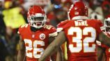 Damien Williams celebra touchdown