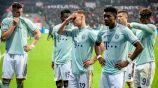 Jugadores del Bayern se lamentan tras perder contra las Aspirinas