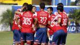 Jugadores de Veracruz Sub 20 durante un partido