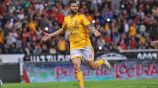 Gignac celebrando un gol con Tigres