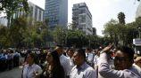 Capitalinos desalojan sus edificios tras registrarse un sismo