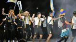 Jugadores de Tigres festejan título