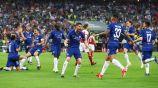 Jugadores del Chelsea celebran el título de Europa League