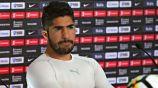 Pereira, en una conferencia de prensa