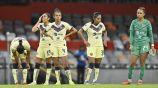 Jugadoras de América Femenil se lamentan tras perder ante Puebla