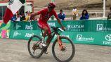 Gerardo Ulloa, tras pasar la línea de meta en Lima 2019