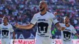 Carlos González celebra una anotación ante Atlético San Luis