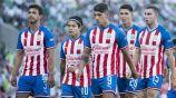 Jugadores de Chivas lamentan una derrota
