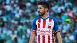 Oribe Peralta, en un juego con Chivas