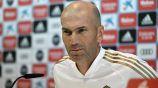 Zidane, en conferencia de prensa