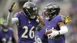 Ravens celebra un triunfo sobre los Bengals