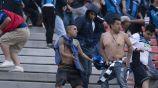 Aficionados de Querétaro retran a golpes a seguidores de San Luis