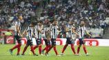 Jugadores de Monterrey, después del juego vs Chivas