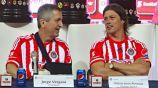 Jorge Vergara y Matías Almeyda en su etapa de Chivas