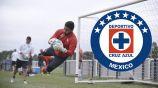 Martín Campaña en un entrenamiento con Independiente