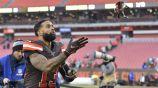 Odell Beckham Jr tras un juego de los Browns
