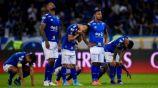 Jugadores de Cruzeiro en lamento confirmado su descenso