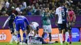 Pizzuto sufrió una grave factura en choque contra León
