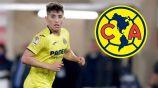 Santiago Cáseres, en un juego con el Villarreal